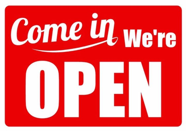 We are Open today Please Drive Carefully & Be safe