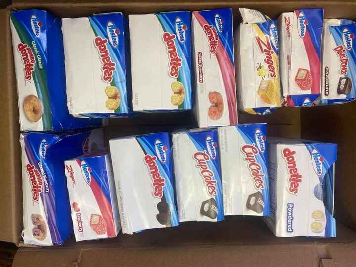 Our loss is your gain! These Hostess items are up for grabs at a discounted price this Thursday (6/10) from 8am - 3pm.FI...