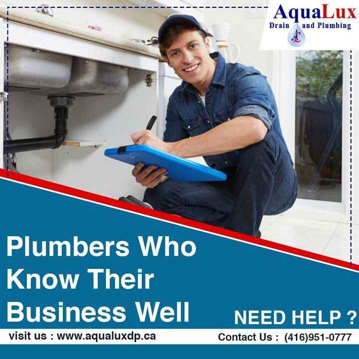 AQUALUX DRAINING AND PLUMBING IS GROWING UP COMPANY WITH PROFESSIONAL TEAMto know more👇📞416-951-0777📧info@aqualuxdp.ca👉h...